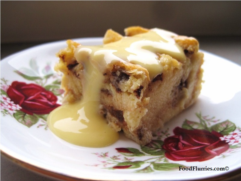 Chocolate Chip Bread & Butter Pudding » Food Flurries...