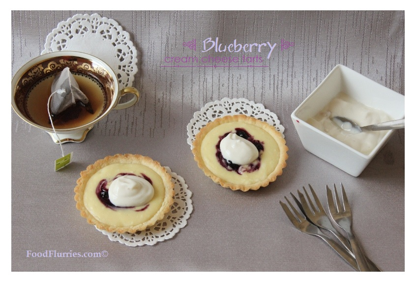Blueberry Cream Cheese Tarts0