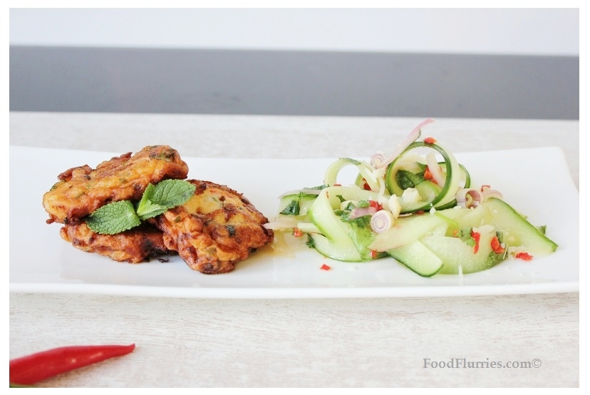 Fishcakes & Cucumber Salad5
