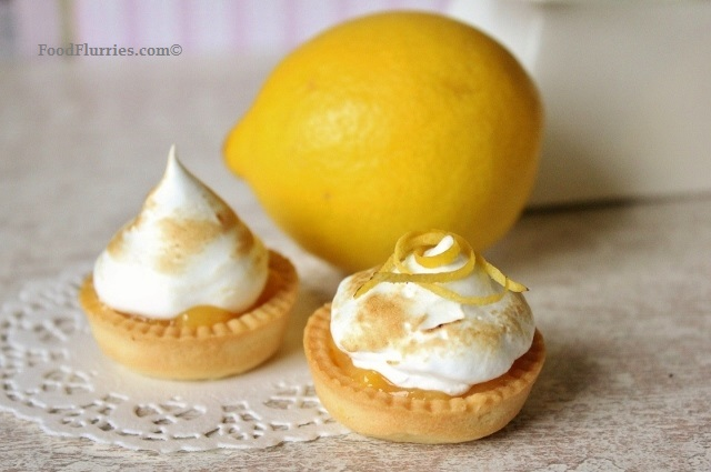 Lemon Meringue Tartlet4