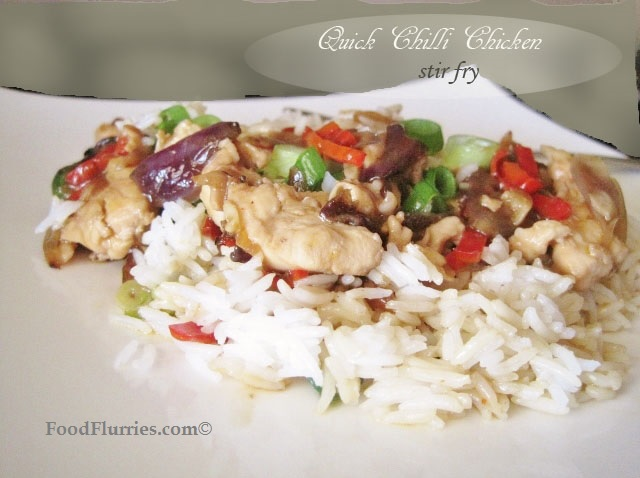 Chilli Chicken Stir Fry