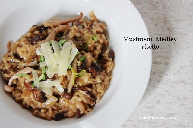 Mushroom Medley Risotto