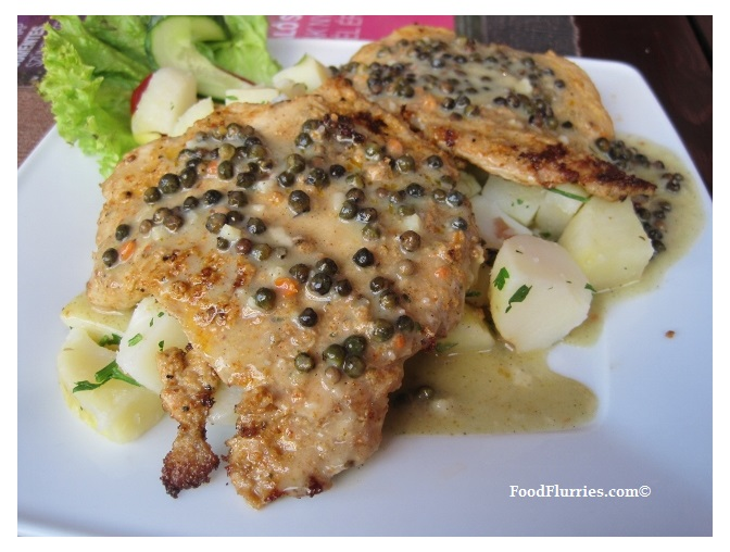 CroatiaSchnitzel Pork Pepper Sauce