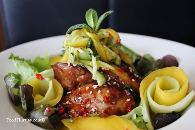 Sweet Chilli Chicken & Mango Salad with Mandarin Orange Lime Dressing5