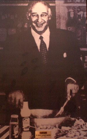 Caesar Cardini (1896 - 1956)  Picture source: