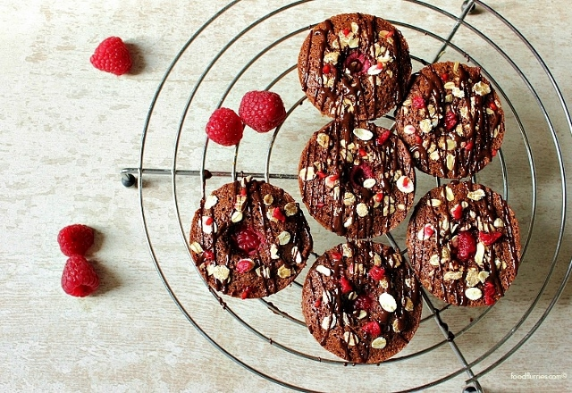 Decadent Chocolate & Raspberry Friands2 (640x440)