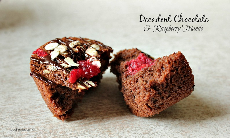 Decadent Chocolate & Raspberry Friands5