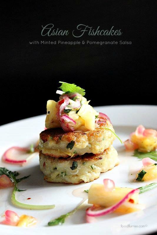 Fishcakes & Pineapple salsa3