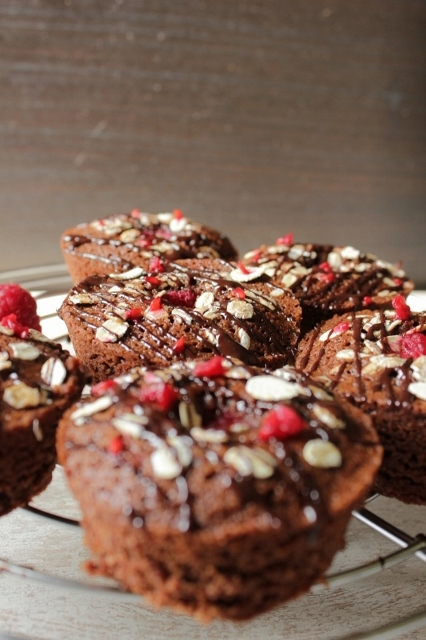 Decadent Chocolate & Raspberry Friands