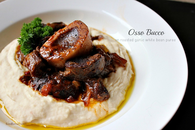 Osso Buco on Bean Puree
