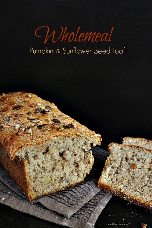 Wholemeal Pumpkin + Sunflower Seed Loaf