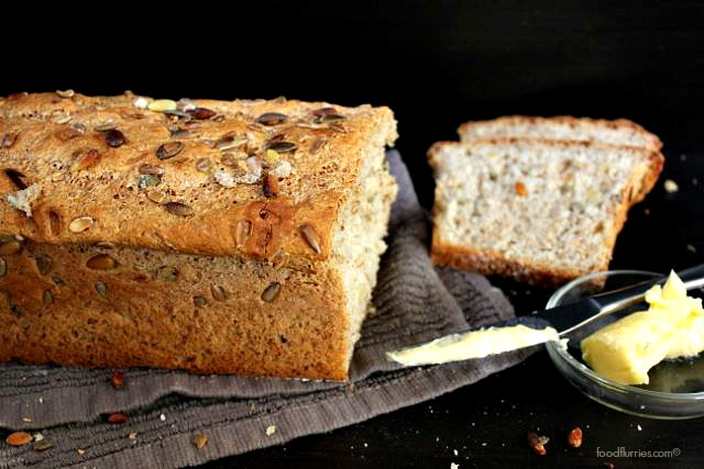 Wholemeal Pumpkin + Sunflower Seed Loaf1