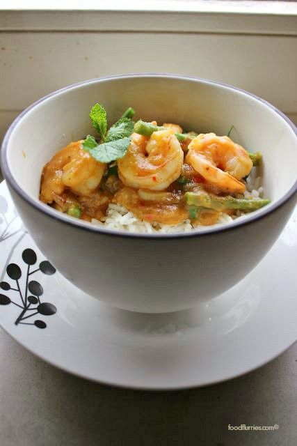 Pumpkin Curry with Prawns4