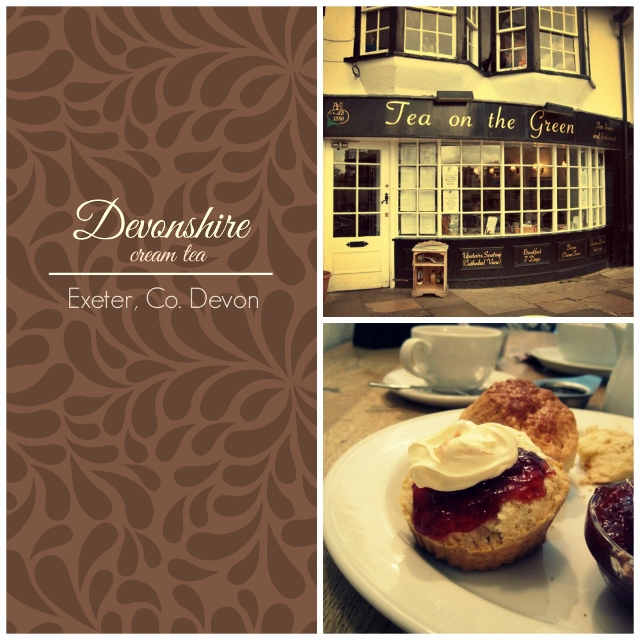 Exeter_Devonshire Cream Tea