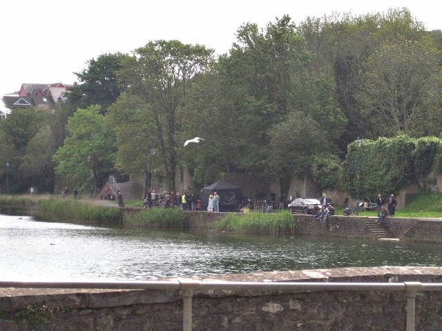 Filming Me Before You Pembroke Wales