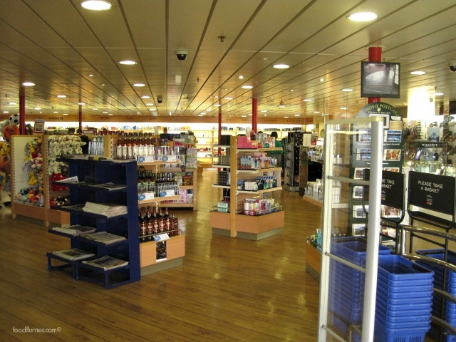 Irish Ferries Souvenir Shopping