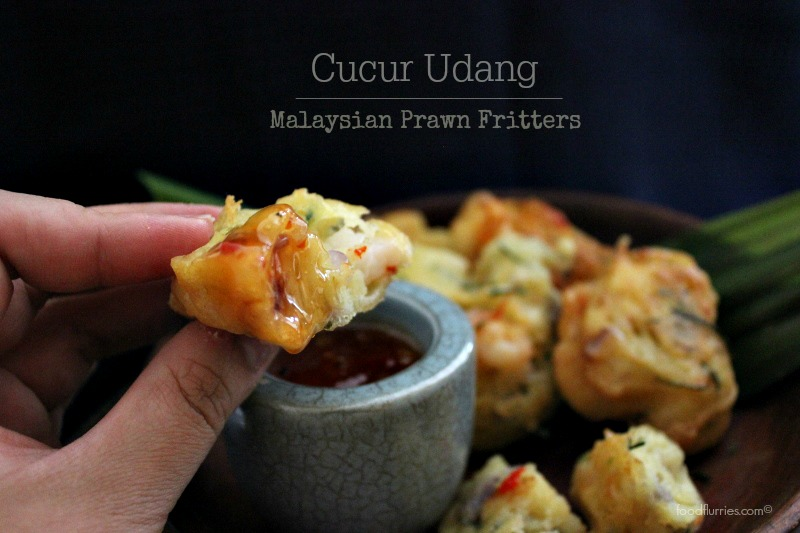 Cucur Udang: Malaysian Prawn Fritters